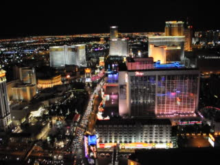 Las Vegas, NV : Eifell Tower Night view 