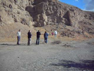 Palm Springs, Californien: Touring the San Andreas Fault!