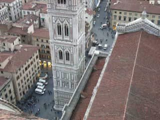 Florenz, Italien: Giotto&#39;s bell tower Florence