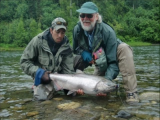 Cabin 3 picture of alaska fishing lodge wilderness for Anchorage alaska fishing charters