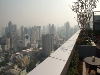 Novotel Bangkok Ploenchit Sukhumvit: The From the Roof Top Terrace
