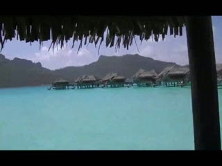 Bora Bora, Franska Polynesien: VIDEO: Tour of our overwater villa