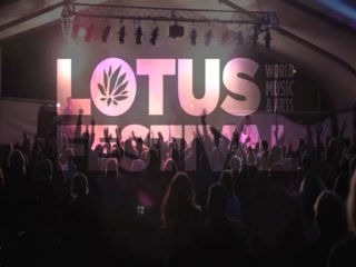 The amazing Lotus World Music &amp; Arts Festival in downtown Bloomington.