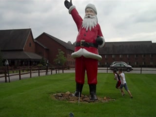 Who loves Santa Claus, Indiana?