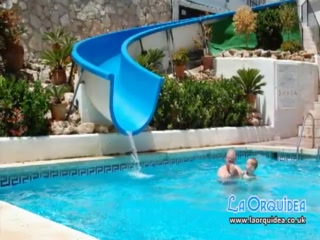 The Swimming Pools of La Orquidea Holiday Resort.