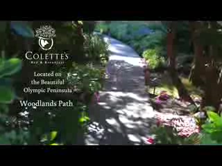 Woodlands Path at Colette's Bed & Breakfst Inn
