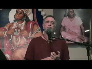 Krishnadas talks about the Yoga Retreat