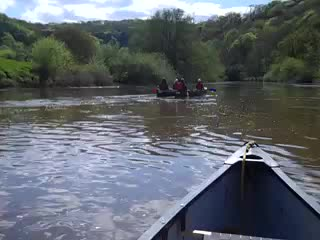 A Guided Canoe Trip on the River Wye 2012