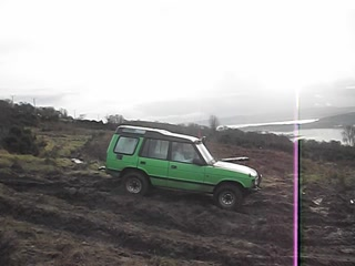 Helensburgh, UK: Driving part of the course at LCS