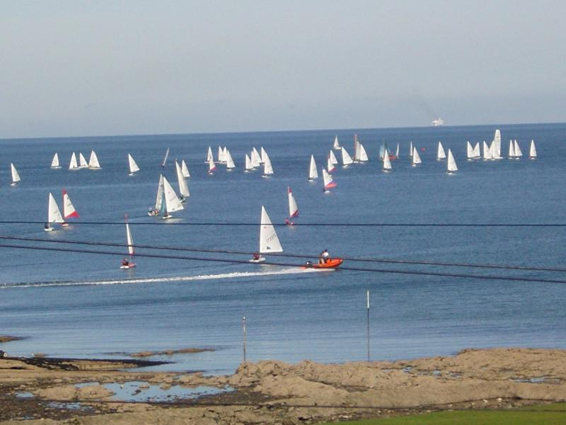 View from lounge balcony over Ballyholme Bay