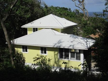 back of the house