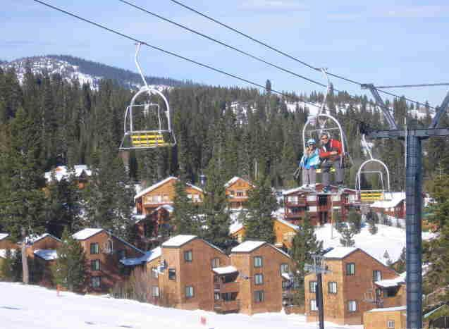 #rd Building from this Chair on the Tahoe Donner Skihill