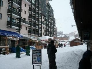 studio center val thorens ski slopes 3/4 people