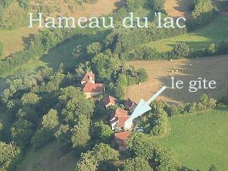 "GREEN HOLIDAY COTTAGE IN QUIET HAMLET  ""LAKE "" - A Naussac in AVEYRON"