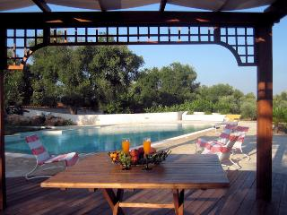 Villas with pool, immersed in ancient olive groves and few km from the sea