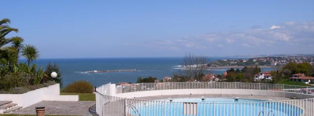 Studio woth ocean rated 3 star residence in Ciboure (neighbour town to St Jean de Luz)