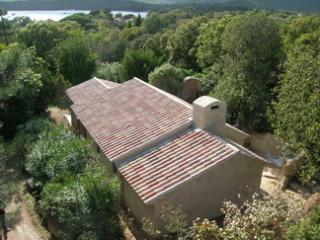 Villa on the water 30m from the beach, excl direct, Santa Giulia bay near Porto Vecchio.