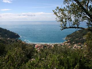 Beautiful village on the Liguria riviera near Five Lands National Park
