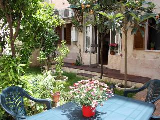 House in the center of Palma de Mallorca with garden. Possibility of 16 people in two houses. Available for bookings of less than 7 days.