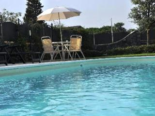 apartment with magnific sea and Etna view and pool