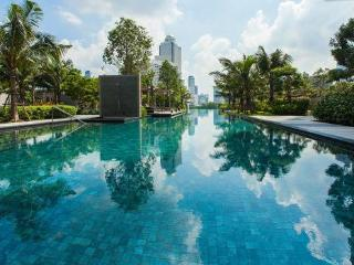 Bangkok 1 Bed & Sofa River Wifi 47fl Near Temples