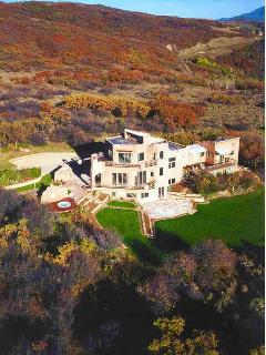 Located on three acres atop Aspen Ridge