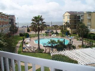 """ Breathtaking Gulf Front,1Br/1BA, Galveston, TX"