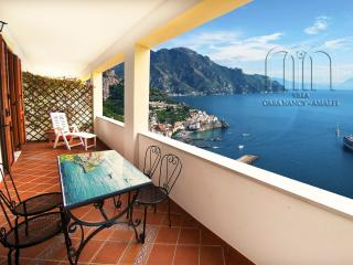 "VILLA "" CASA NANCY"" in Amalfi, beautiful panorama with views over the sea and the coast"