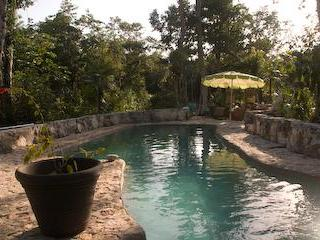 Jungle house with private pool near XCacel beach