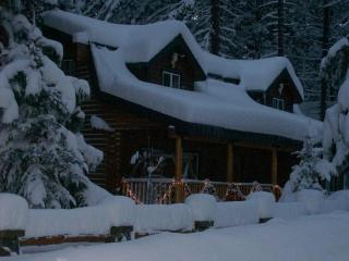 Beautiful 4 bd log home 2 blocks from Lake Tahoe