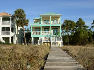 Gulf Front Cape San Blas- Two Palms Villa-Hot Tub