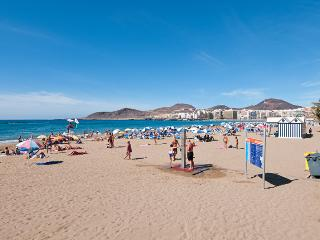 Gorgeous Apart right on the beach Las Canteras