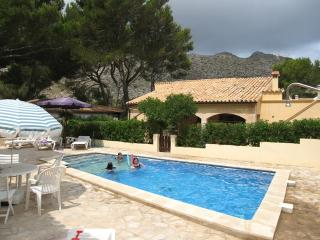 Villa Can Tranquil en Cala Sant Vicenc