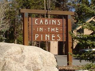 COZY KEYSTONE, 3 BDRM, CABIN IN THE PINES TWN HM