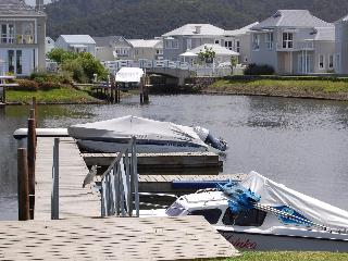 Ebbtide at Thesen Island Marina, Knysna, W Cape.
