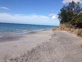 Monthly beach side on Manasota Key, Englewood, Fl