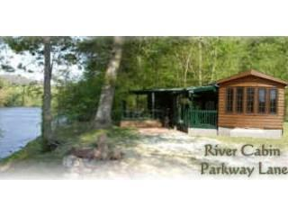 River Cabin on the banks of the French Broad River