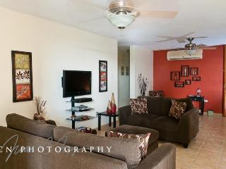 LIVING ROOM WITH A/C