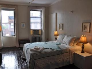 Studio Uptown Manhattan East sleeps 4