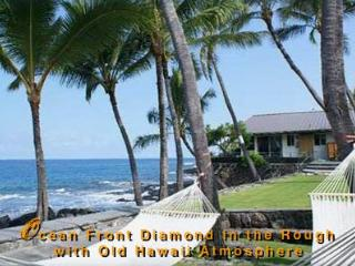 Beautiful Oceanfront Kona Home- Private Beachfront