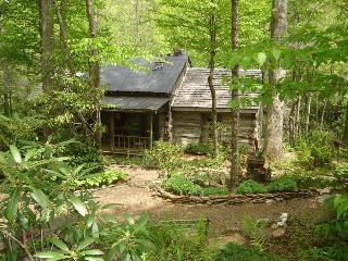 Rustic Log Cabin on Rock Creek-Very Private