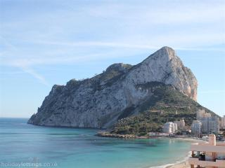 Beachfront Apartment in Calpe