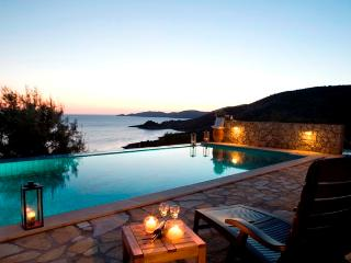 Secluded private villa with private pool, sea views, close to beach near Vassiliki