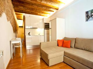 Renovated studio for 2, Gothic Quarter & El Born