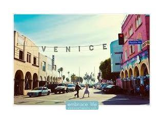 2 Venice Beach near the sand!