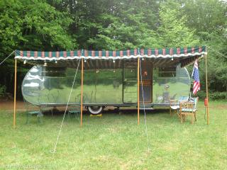 Gite in Vintage US Airstream
