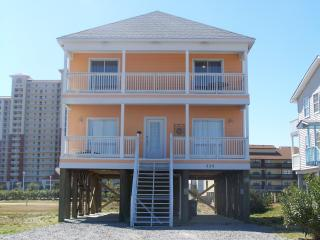 Gulf Shores Beach House Rental - Big Orange Sunset