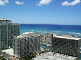 WAIKIKI STUDIO CONDO 32nd floor PANORAMIC OCEAN VIEW, HI