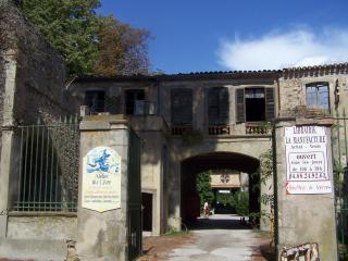 Mansion of old Manufacture  near Carcassonne