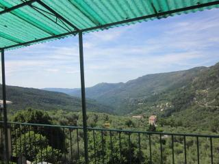 A 24 km from NICE (COTE D'AZUR) Village COARAZE - house on two floor levels - 3 bedroom terrace -5 people